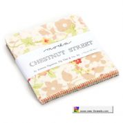 "Chestnut Street - Charm Pack by Fig Tree for Moda Fabrics - 42 x 5"" fabric squares"